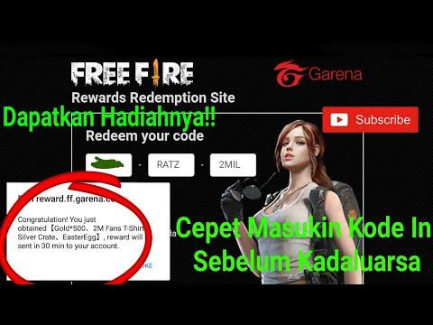 Cepat Diambil!! Sebelum kadaluarsa!! - redeem code free fire indonesia