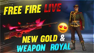 Free Fire Live After New Update || New Gold & Weapon Royal || Desi Gamers