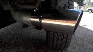 installed 7 inch exhaust tip on duramax