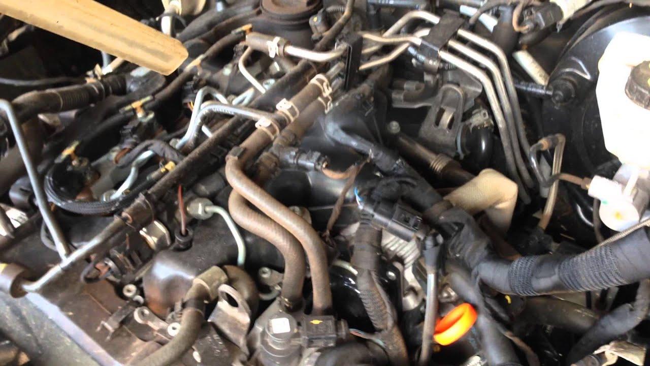 Limpeza Motor Da Amarok Atraves Do Jateamento Com Gelo