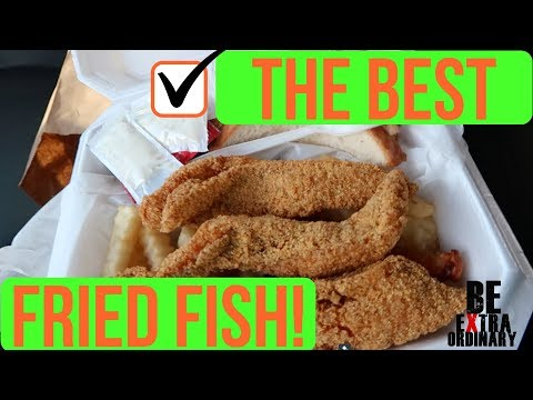 THE Best Catfish I've EVER HAD! (Dallas, Texas)