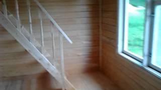 Дом из бруса 6х8 ПРОЕКТ Д-34(Дом из профилированного бруса под ключ ПРОЕКТ Д-34 Строительная компания СТРОЙУДАЧА http://strojudacha.ru/, 2013-07-05T09:00:38.000Z)
