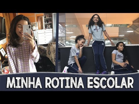 MINHA ROTINA DA MANHÃ ATÉ A NOITE - DIÁRIO ESCOLAR #4