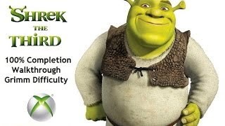 Shrek The Third :  100% Completion Walkthrough-  Level 7 Prison Cell Block (Grimm Difficulty)