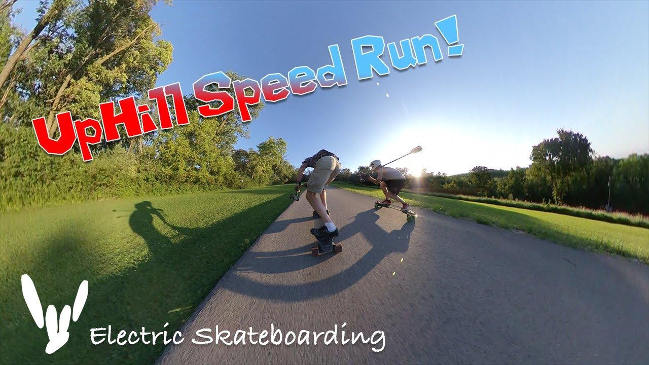 Boosted Board Stealth - Kujo - Uphill Speed Run!