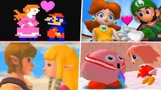 Evolution of Nintendo Couples (1981 - 2019)