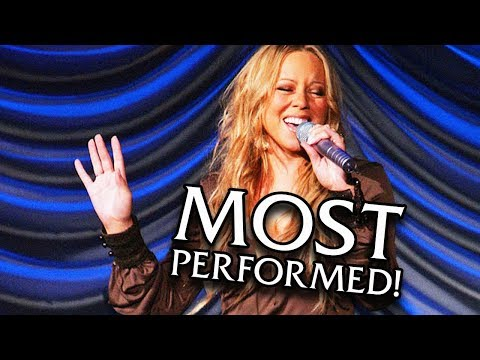 Mariah Carey - MOST Performed Songs Of ALL TIME