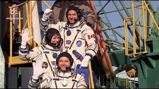 David Saint-Jacques flew to the International Space Station