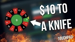 From 10$ to a Knife - CS:GO Gambling (csgofast)