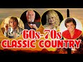 Top 100 Classic Country Songs of 60s 70s - Greatest Old Country Love Songs Of 60s 70s