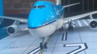 JC Wings 200 KLM B747-400(95 Years)Special Edition Review