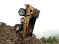 heavy equipment accident caught on tape, most horrible truck, dump truck accident
