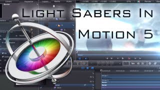 Lightsaber Tutorial in Apple Motion 5 - Stopwatch Effects