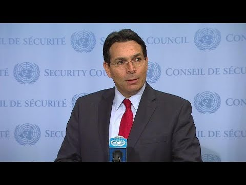 Danon to UNSC: Act against Iran's nuclear threat
