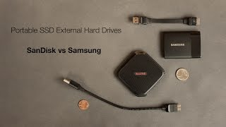 Portable SSD External Hard Drives: SanDisk vs Samsung