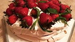 """""""Anna Pavlova"""" tortu. Ən zәrif, әn dadlı әsl yaz-yay tortu. Unsuz tort resepti."""