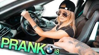 KRADZIEŻ BMW i8 (PRANK) !