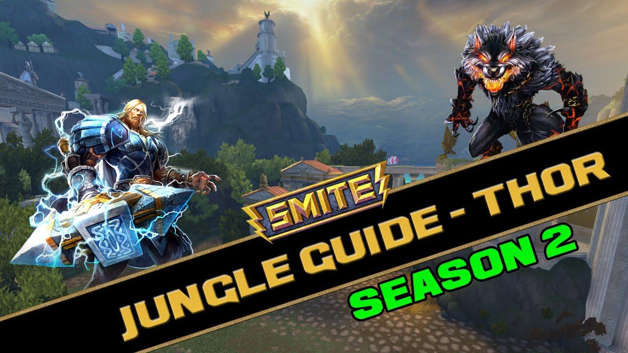 Smite Thor Jungle Build Season