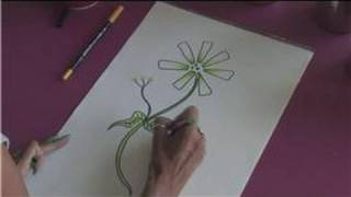 Drawing Tutorial : How to Draw the Jasmine Flower