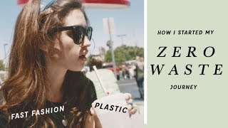 How I Started My Zero Waste Journey & How You Can Too (My #1 Tip) | Alli Cherry