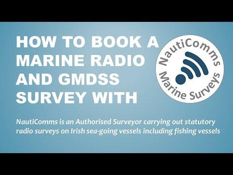 How to book a NautiComms Marine Radio Survey