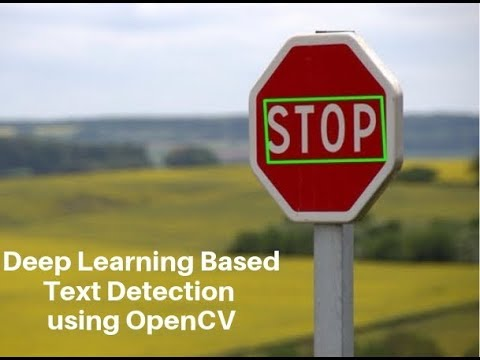 Deep Learning based Text Detection Using OpenCV | Learn OpenCV