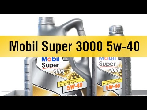 mobil super 3000 5w 40 youtube. Black Bedroom Furniture Sets. Home Design Ideas