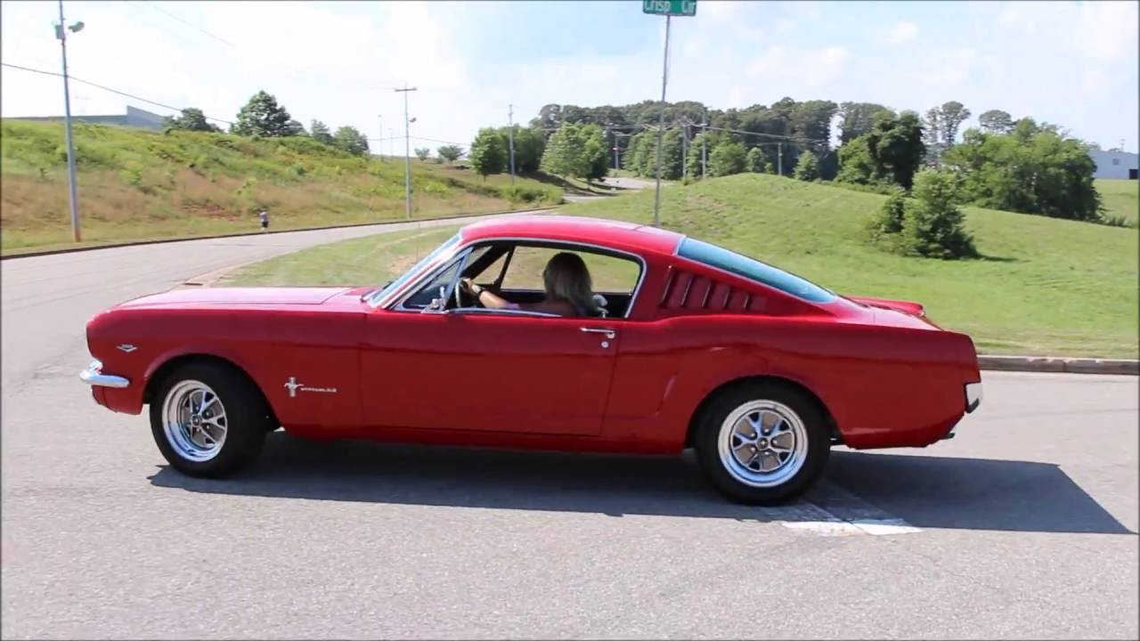 1966 Ford Mustang Fastback Youtube
