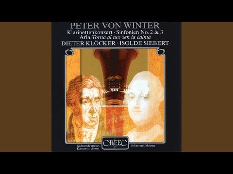 Clarinet Concerto In E-Flat Major: I. Allegro Moderato