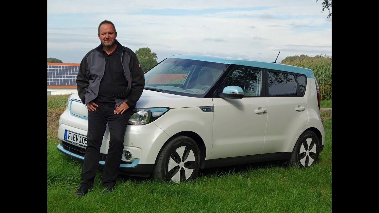 kia soul ev im test 2014 fahrbericht des elektroauto youtube. Black Bedroom Furniture Sets. Home Design Ideas