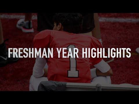 Arjun Lothe | Freshman Football Season Highlights | Center Grove High School