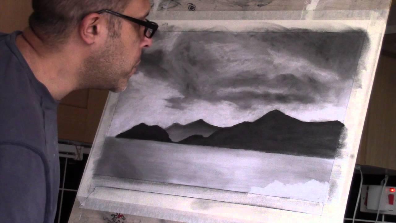 Landscape Art Drawing Easy