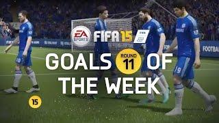 FIFA 15 - Best Goals of the Week - Round 11
