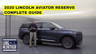 2020 LINCOLN AVIATOR RESERVE COMPLETE GUIDE - STANDARD AND OPTIONAL EQUIPMENT