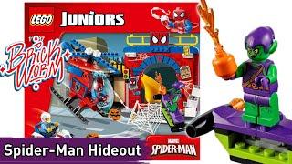 Lego Juniors: Spider-Man Hideout (10687) - Brickworm
