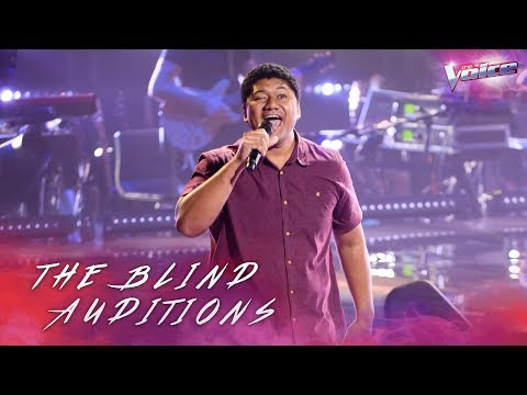 Blind Audition: Chang Po Ching sings Shout   The Voice Australia