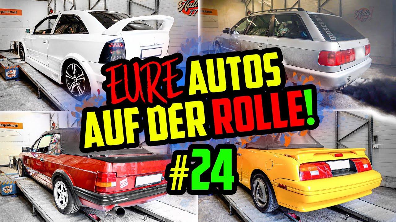 Es wird DUNKEL: Audi A6 Avant TURBO-Diesel! - Prüfstandstag Halle77 - MARCO nimmt EURE Autos ran!