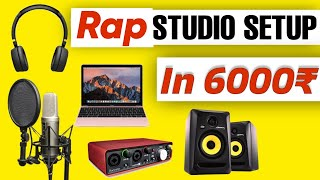 Best Home Studio Setup Under ₹ 6000 | Music Studio Setup | 2021