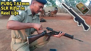 PUBG 7.62mm SLR Rifle In Real Life Indian Army Opening & Closing