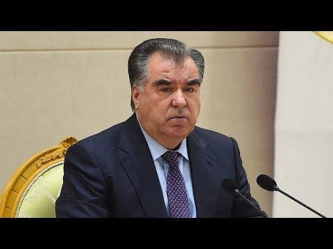 Рахмон провел встречу с президентом «Радио Свободная Европа»
