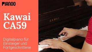 Kawai CA59 - Digitalpiano mit Holztastatur