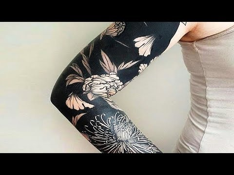 Breathtakingly Beautiful Black Tattoos That Look Out of This World