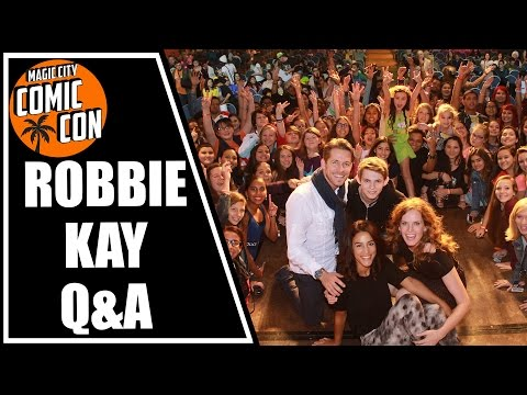 Robbie Kay, Peter Pan in Once Upon a Time Q&A at Magic City Comic Con 2015