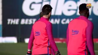 Fc barcelona training session: friday's ...