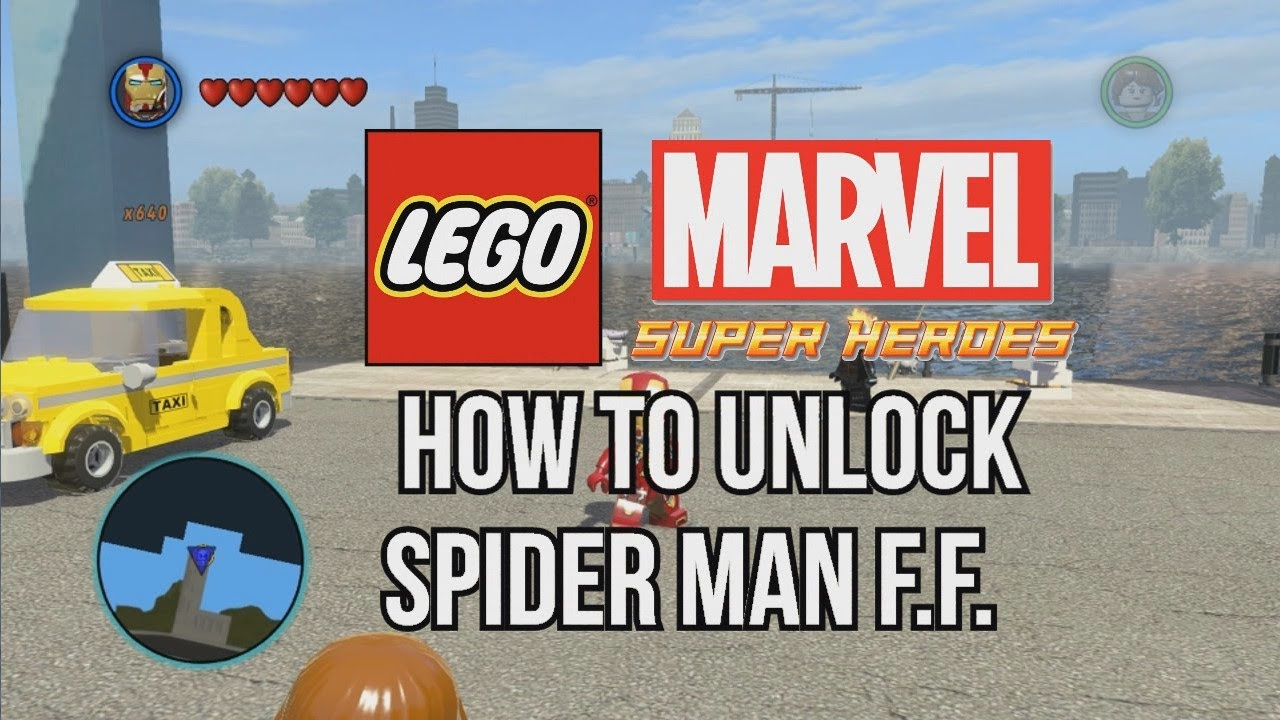 How to Unlock Spider Man Future Foundation - LEGO Marvel ...