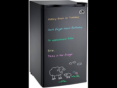 igloo-fr326m-d-black-erase-board-refrigerator-with-neon-markers,-3.2-cu.-ft.,-black-review