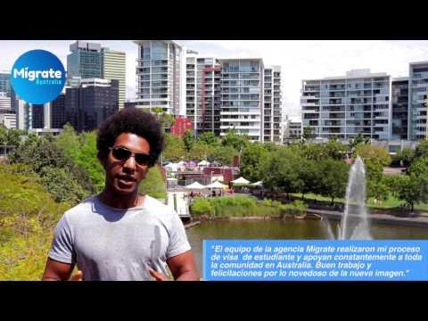 Brazilian student in Australia