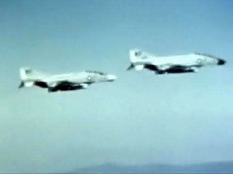 The F4 Phantom II - 1960's U.S. Jet Fighter - CharlieDeanArchives / Archival Footage