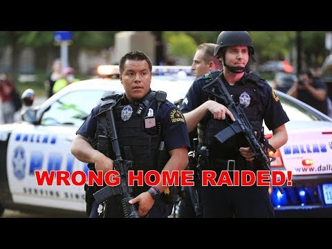 Dallas Police Raid Wrong Home