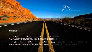 gabay with lyrics and chords by sherwin bob diaz (demo version)